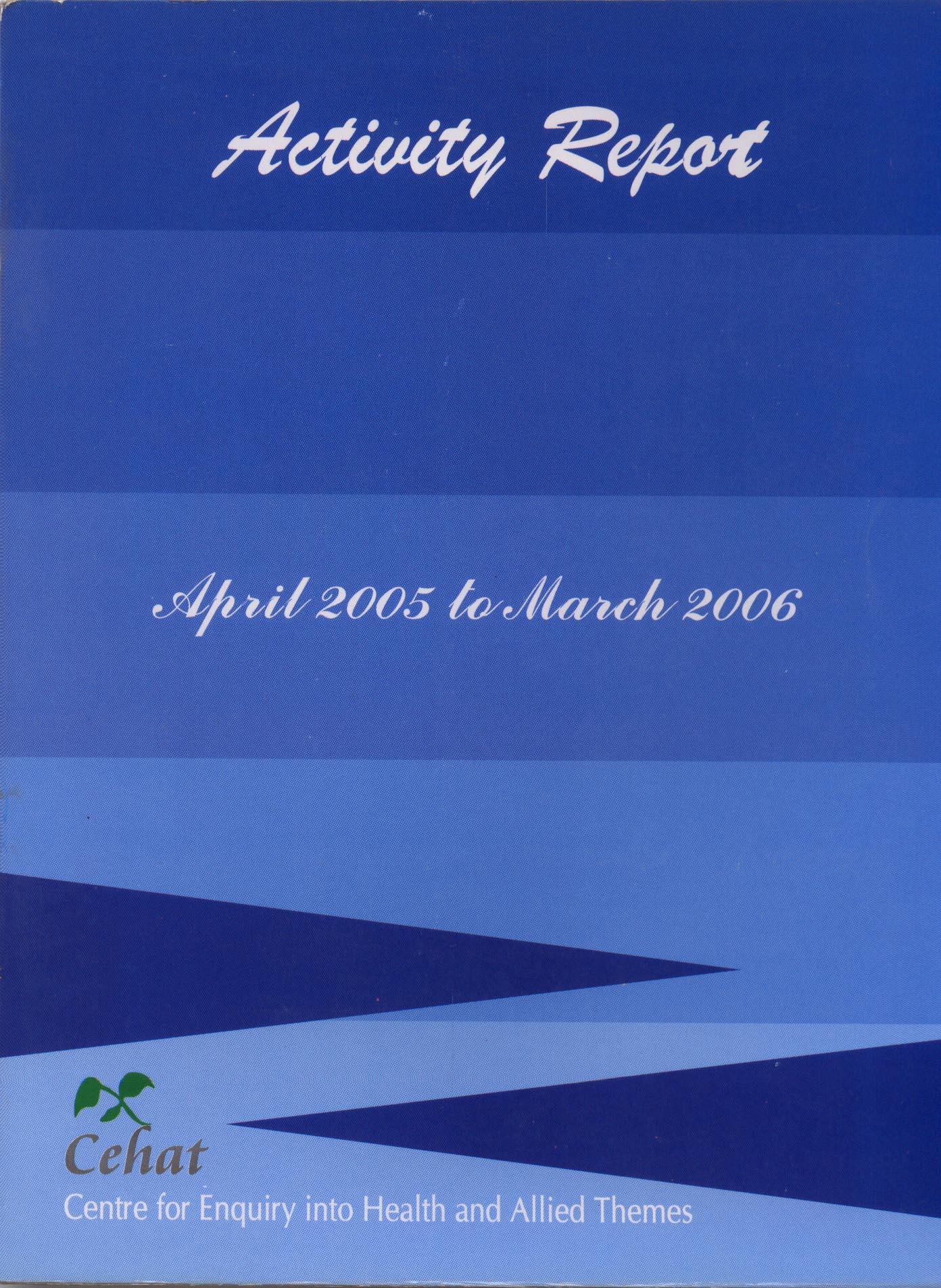 April 2005-March 2006
