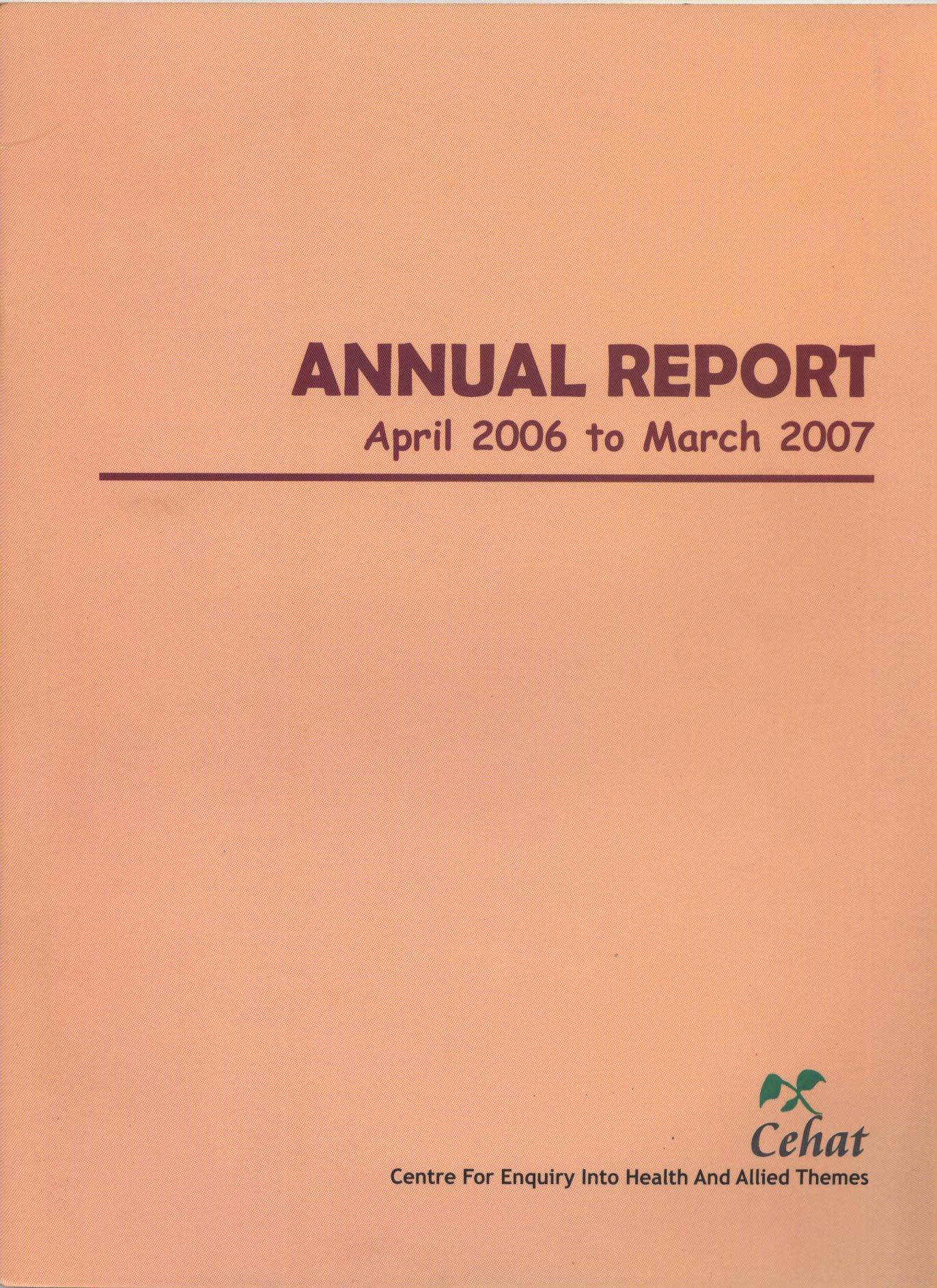 April 2006-March 2007