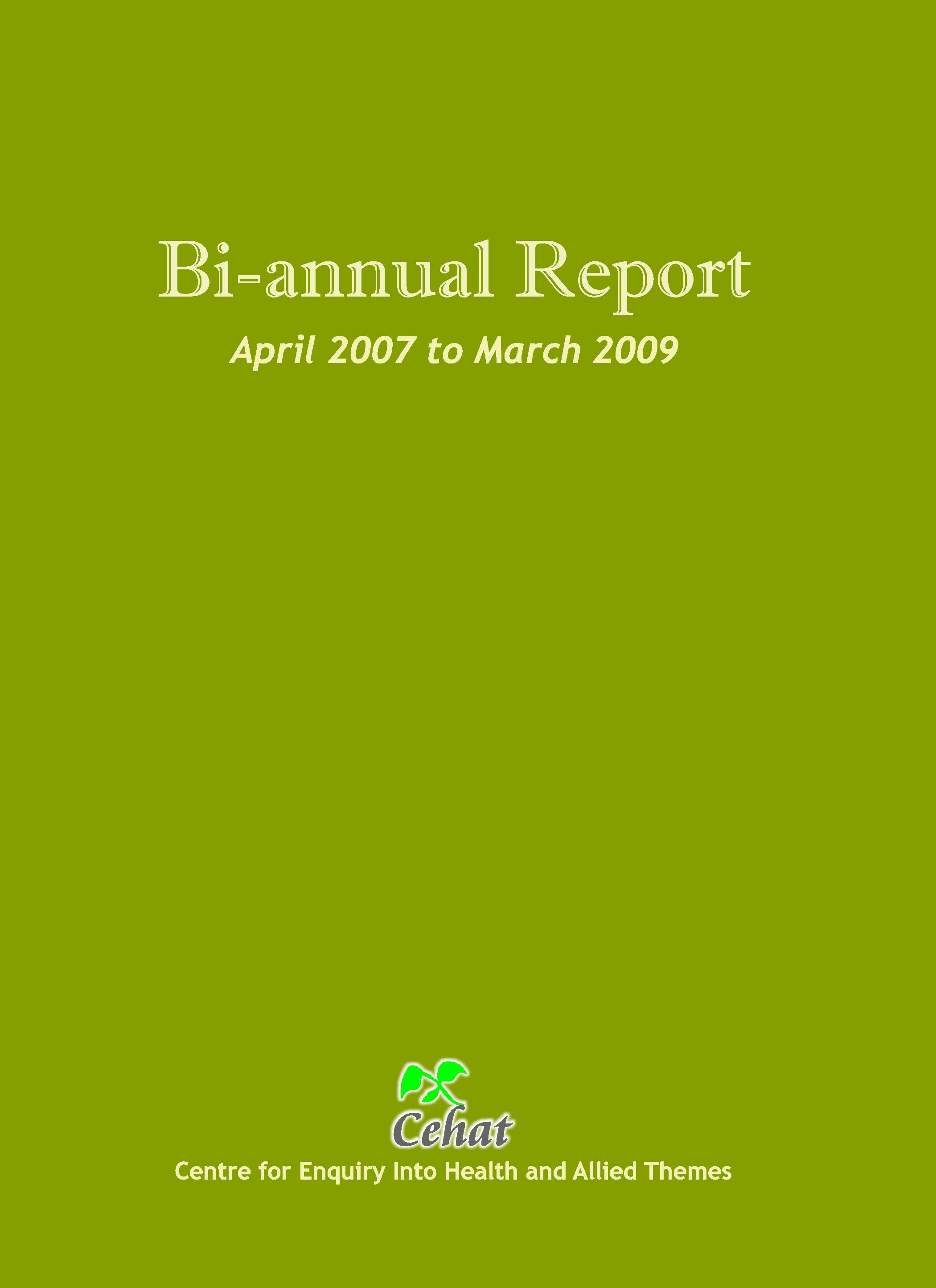April 2007-March 2009
